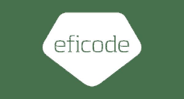 eficode white logo space